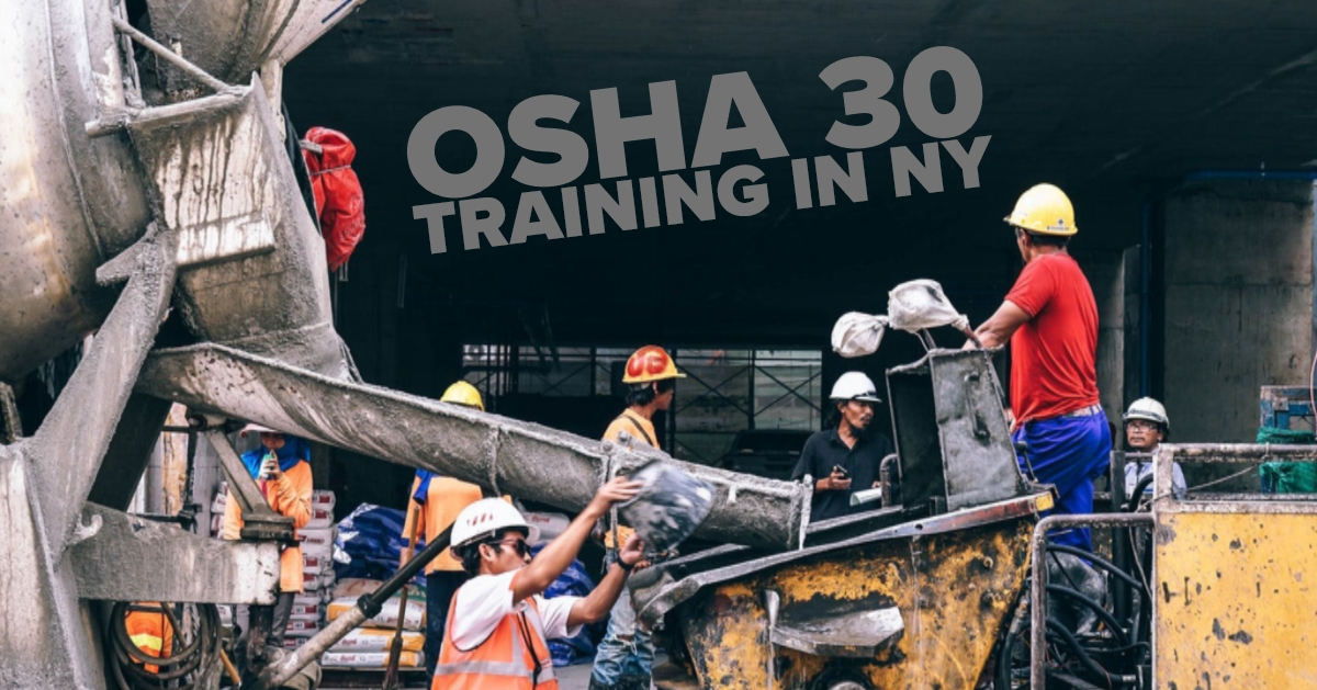 Osha 30 Training In Brooklyn English And Spanish Classes Available